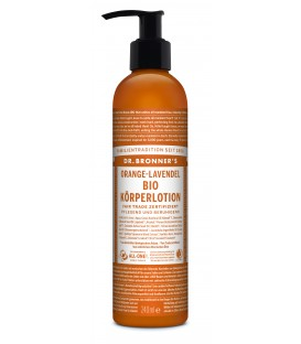 Dr. Bronner's Körperlotion - Orange Lavendel