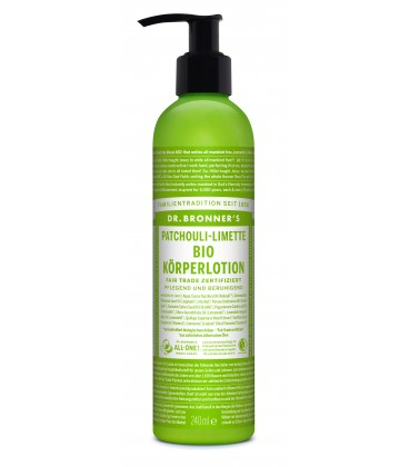 Dr. Bronner's Body Lotion - Patchouli Lime