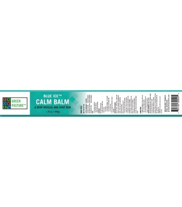 Green Pasture Blue Ice FCLO Calm Balm