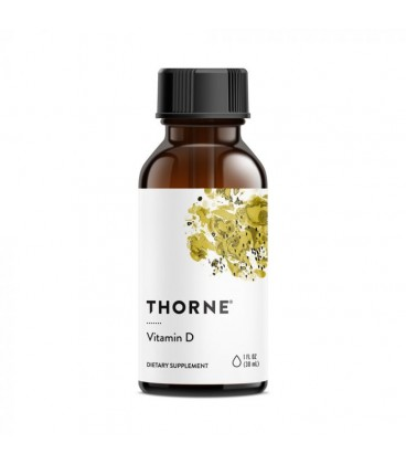 Thorne Vitamin D Liquid Tropfen