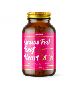 Grass-Fed Desiccated Beef Heart