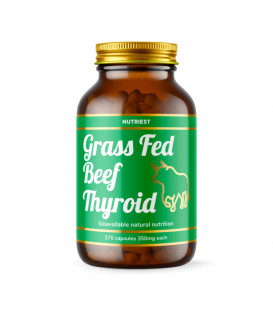 Grass-Fed Desiccated Beef Thyroid