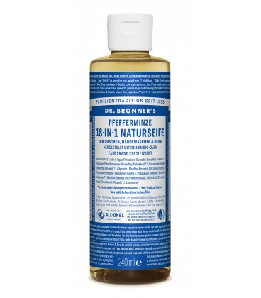Dr. Bronner's Liquid Soap - Peppermint
