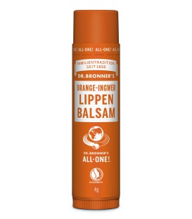 Dr. Bronner's Lip Balm - Orange Ingwer