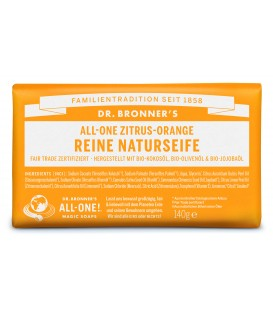 Dr. Bronner's Bar Soap - Citrus Orange