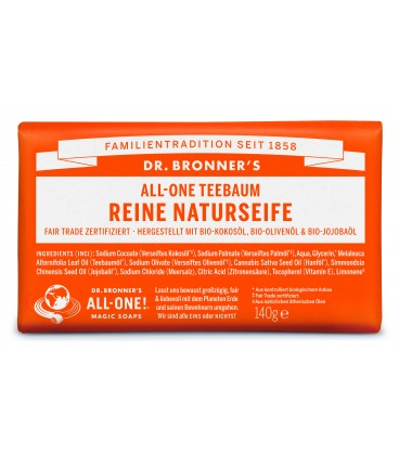 Dr. Bronner's Bar Soap - Tea Tree