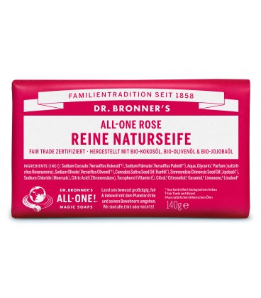 Dr. Bronner's Bar Soap - Rose
